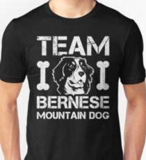 Team Bernese Mountain Dog Cute Dog Lover Gift Unisex T-Shirt