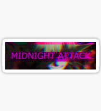 MidnightAttack Slap Sticker Sticker