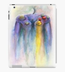 Game Cube Painting iPad Case/Skin