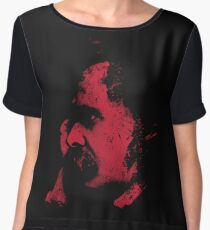 Nietzsche Portrait Women's Chiffon Top