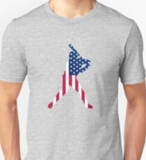 USA is baseball. Unisex T-Shirt