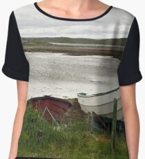 At Kirk Ness Women's Chiffon Top