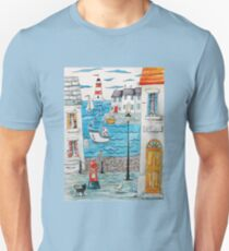 Spring at the seaside Unisex T-Shirt