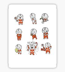 ULTRAMAN KAWAII SET Sticker