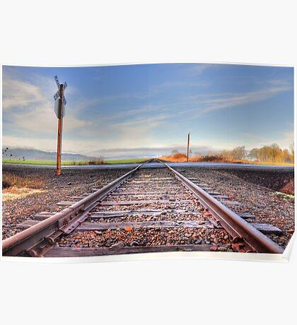 Old set of tracks  Poster