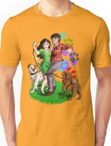 Dogs and Love Unisex T-Shirt