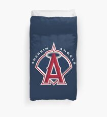 Los Angeles Angels of Anaheim Duvet Cover