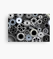 Engineering Poster Canvas Print