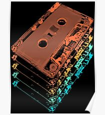 Cassette Tapes Poster