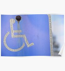 Disabled Man Poster