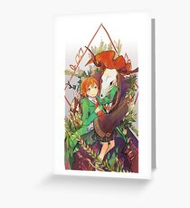Ancient Magus' Bride Greeting Card