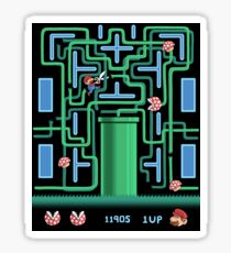 Pac-Mario Sticker
