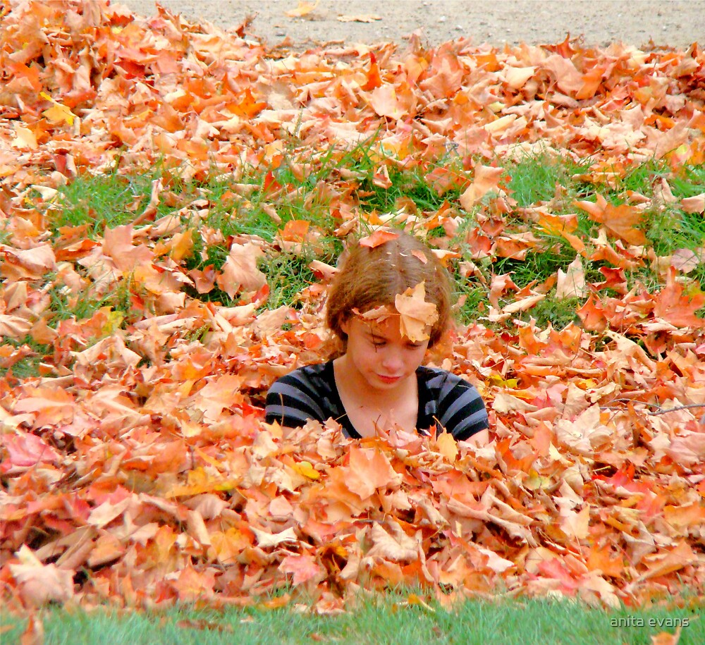 I am canadian (Up to my neck in leaves) by anita evans