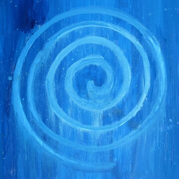 Blue Spiral II by jbattdesign
