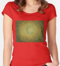 Green Day original painting Women's Fitted Scoop T-Shirt