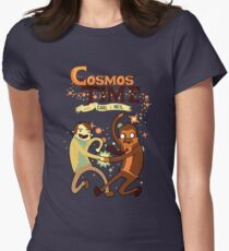 Cosmos Time Womens Fitted T-Shirt