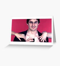 Louis Theroux - Thot slayer Greeting Card