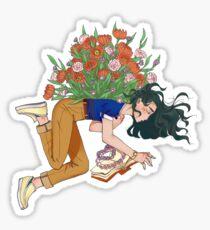 -love anxiety- Sticker