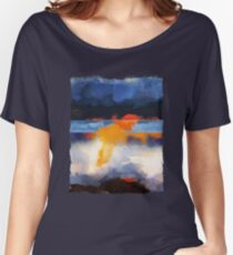 Dusk Reflection Women's Relaxed Fit T-Shirt