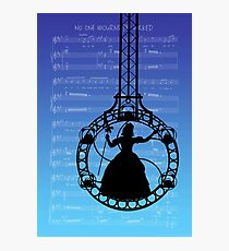 Wicked The Musical No One Mourns The Wicked Score Photographic Print