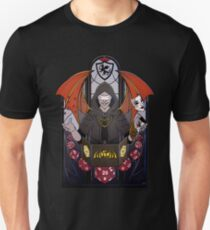 Dungeon Master - Stained Glass T-Shirt