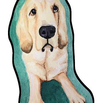 Watercolor Doggo by ColaChu