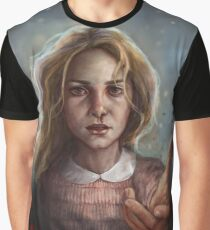 Stranger Things: Eleven in the Upside-down  Graphic T-Shirt