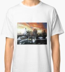 SUNSET IN THE VILLAGE Classic T-Shirt