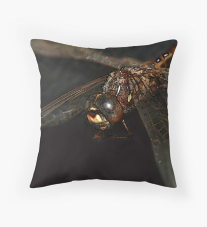 Mystical Dragonfly Throw Pillow
