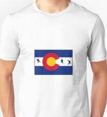 Boarding Colorado  Unisex T-Shirt