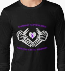 Cystic Fibrosis Heroes Long Sleeve T-Shirt