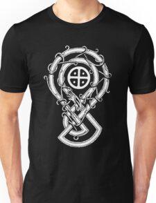 "Sun Cross Dragon ""SOLAR WARDEN"" Unisex T-Shirt"