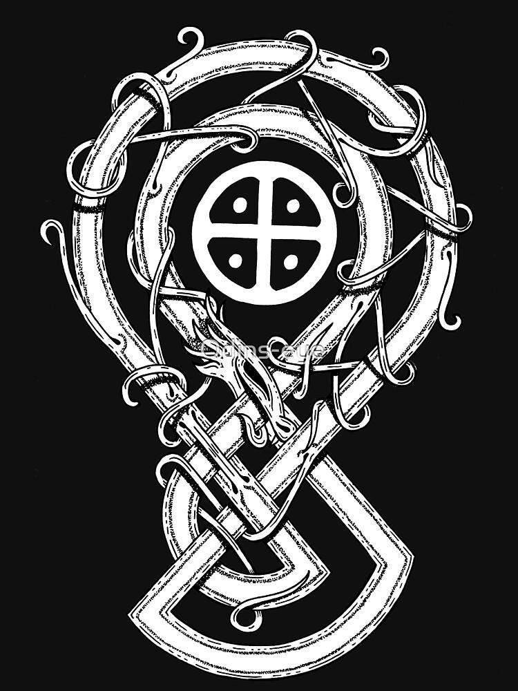 "Sun Cross Dragon ""SOLAR WARDEN"" de Odins-eye"