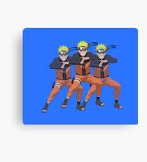 Naruto x3 Canvas Print