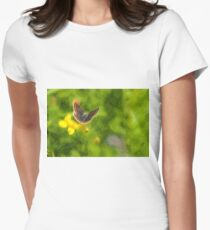 Artwork - Brown Argus Women's Fitted T-Shirt