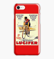 TOUR DE FRANCE: Vintage Lucifer Bike Print iPhone Case/Skin