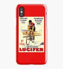 TOUR DE FRANCE: Vintage Lucifer Bike Print iPhone Case/Skin