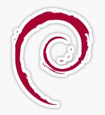 Logo Debian Sticker