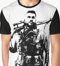 Weathered Karl Fairburne Sniper Elite 4 Graphic T-Shirt