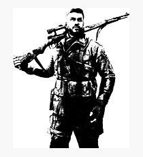 Weathered Karl Fairburne Sniper Elite 4 Photographic Print