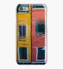 Reflets à Burano iPhone Case/Skin