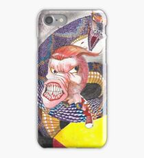 Survive the Coil - Qbert Series #1 iPhone Case/Skin
