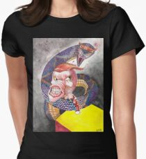 Survive the Coil - Qbert Series #1 Womens Fitted T-Shirt