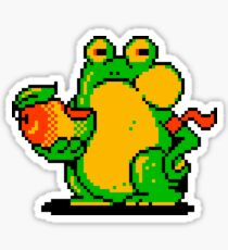 The Frog and the Mango  Sticker