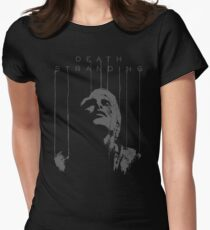 Death Stranding - Mads Mikkelsen Womens Fitted T-Shirt