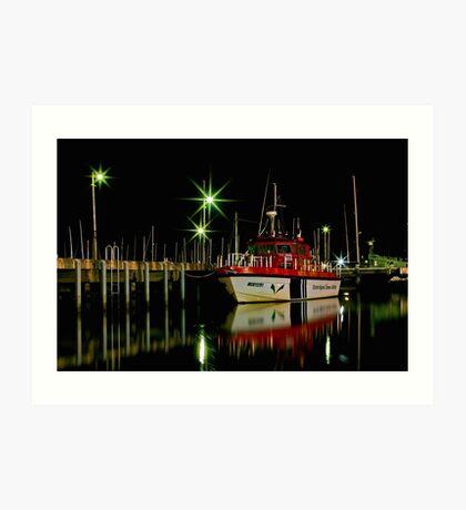 """Harbourside Reflections"" Art Print"