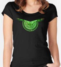 Green Runway TEE Women's Fitted Scoop T-Shirt