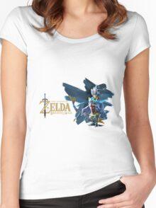 the legend of Zelda Breath of the wild Women's Fitted Scoop T-Shirt