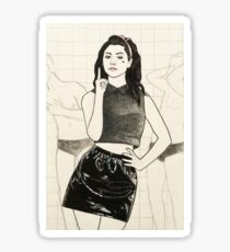 "Marina and the Diamonds 15 - ""Rule number one is that you gotta have fun"" Sticker"