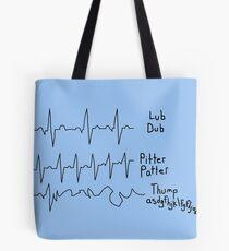A Study in EKG Interpretation Tote Bag